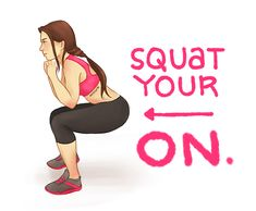 I'm doing this intense squat challenge way better than the one floating around with the big butt on it lol