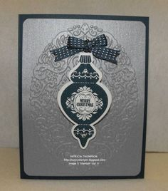Ornament Keepsakes card, SUO by sunnyone - Cards and Paper Crafts at Splitcoaststampers
