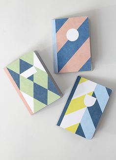 The 3 Squires - Pocket notebooks by papier Tigre