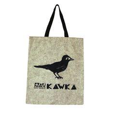 Torba Kawka zrealizowana na podstawie oryginalnej grafiki  Do zamówienia poprzez: https://www.facebook.com/pracowniasylwii