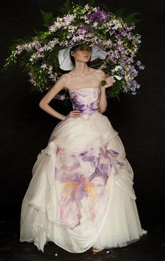 ❀ Flower Maiden Fantasy ❀ beautiful photography of women and flowers - lavender extravagance