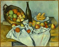 Paul Cézanne, The Basket of Apples, oil on canvas, 1893 (Art Institute of Chicago)