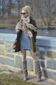 burberry green trench coat, isabel marant wedge boots, taupe suede wedge boots, style tips, fashion tips, outfit ideas, fashion inspiration