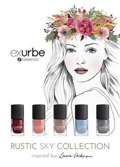 18. Rustic Sky Collection von exurbe cosmetics
