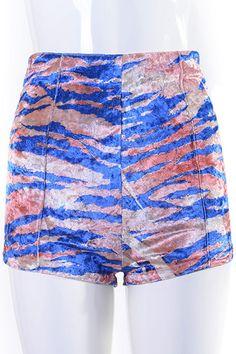 #Romwe Zippered Nude Shorts
