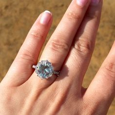 Princess Cut Engagement Rings On Finger Google Search