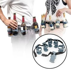 Getränkehalter Gürtel - Sechserträger