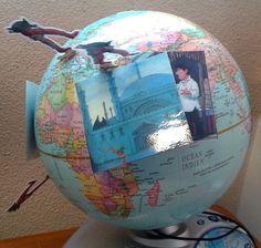 Le petit ogre veut voir le monde - globe