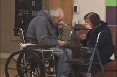 Dos ancianos ingleses han sido separados en diferentes residencias tras 62 años…