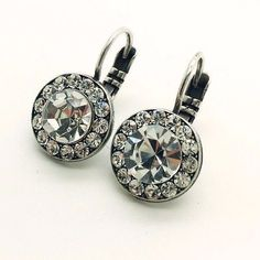 Mariana Women Jewelry OUTLET Crystal Swarovski Pave Earrings Set Free Shipping #Mariana