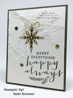Elegant Suite Sayings Holiday Card with How To Video