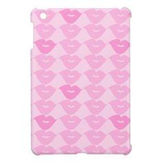 Pink Lips iPad Mini Cases