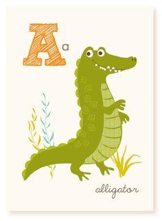 Abc Wall Art abc card, v is for velvet crab , abc wall art, alphabet flash