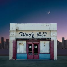 Title: Woo's Gifts Shop, Los Angeles, CA Artist: Ed Freeman Date of image: 2018 Size: inches cm) Format: archival pigment Straight Photography, Minimal Photography, Film Photography, Street Photography, Bagdad Cafe, Ed Freeman, Shop Fronts, Retro Aesthetic, Urban Landscape