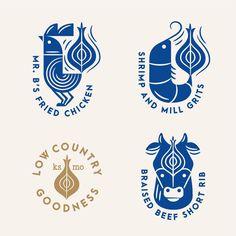 New Vintage Logo Design Food Fonts 42 Ideas Food Logo Design, Vintage Logo Design, Badge Design, Logo Food, Icon Design, Art Design, Type Logo, 2 Logo, Logo Branding