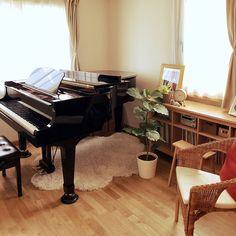 Grand Piano Room, News Studio, Future House, Luxury Homes, Dining Room, Minimalist, Interior Design, Deco, Interiors