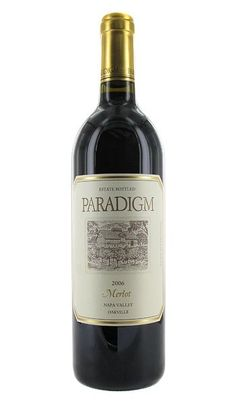 Paradigm - One of my favorite Merlots.  Heidi Barrett was consulting.  Not sure if she does now but their Merlot is yummy.