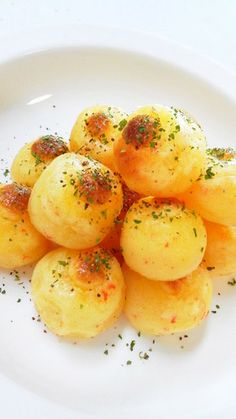 Potato cheese balls! I had them in a restaurant once and I've been looking for a recipe forever!