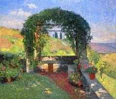 La Pergola (Gloriette) - Henri Jean Guillaume MartinFrench 1860-1943