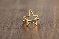 porter gulch gold star ring