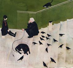 Bellas y sombrías ilustraciones japonesas de Jun Kumaori « Cultura Colectiva