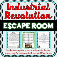 Industrial Revolution ESCAPE ROOM! - Amped Up Learning