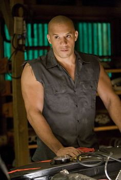 My Vin Diesel obsession might be boarding on unhealthy. please follow me,thank you i will refollow you later