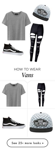 """Untitled #363"" by jasmineskye2 on Polyvore featuring WithChic and Vans"