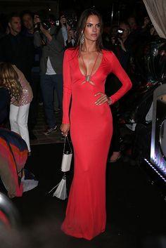 Alessandra Ambrosio en Roberto Cavalli en la fiesta anual del diseñador en Cannes  Cannes 2014 alfombra roja   Galería de fotos 24 de 208   VOGUE