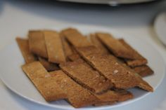 Swedish butterscotch biscuits with sea salt