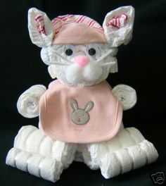 Diaper Bunny - just in time for the Spring baby!