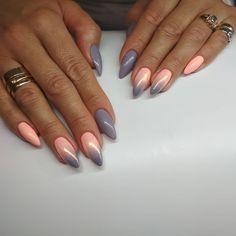 #nails #nailsforever #instanails #gelnails #reforma #unexpectedguest #indigo #mysummermelons #syrenka #paznokcie #pazurki #lovenails 💅💅💅