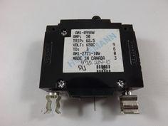 47019210 - ARGUS TECHNOLOGIES - 10 AMP CKT BREAKER CLIP IN BLACK HANDLE 1 PIN W/ STRAP