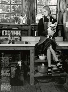 Jean Campbell by Bruce Weber for Vogue UK October 2013 12