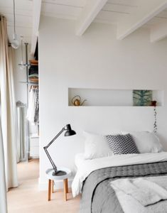 """This clever bedroom is from our feature """"Made to Measure"""""""