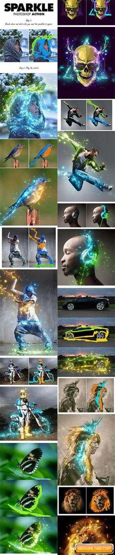 Sparkle Photoshop Action Free Download