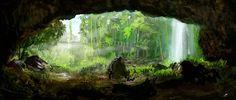 environment_concept___jungle_by_tomtoja-d3l2hn4.jpg (900×385)