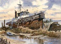 Pilot II, art by John Bohnenberger – California Watercolor