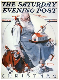 The Saturday Evening Post Saturday Evening Post, Magazine Covers, Merry Christmas, December, Shops, Merry Christmas Background, Tents, Wish You Merry Christmas, Retail