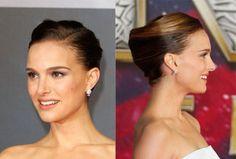 Natalie Portman perfect updo