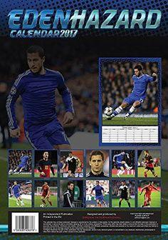 Eden Hazard Calendar - Calendars 2016 - 2017 Wall Calendars - MLS Soccer Calendar - Poster Calendar