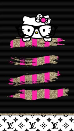 ImageFind images and videos about hello kitty on We Heart It - the app to get lost in what you love. Pretty Phone Wallpaper, Iphone Background Wallpaper, Pretty Wallpapers, Pink Wallpaper, Keroppi Wallpaper, Butterfly Wallpaper, Wallpaper Quotes, Hello Kitty Theme Party, Hello Kitty Themes