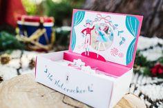 Nutcracker holiday party from Fire  Creme Kids | Love Bucket Photo | 100 Layer Cakelet Nutcracker advent calendar  from Meri Meri