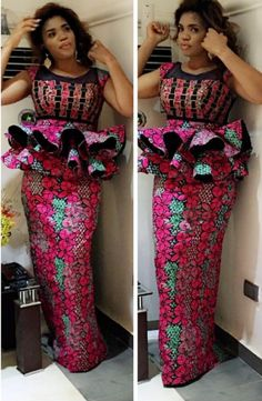 African Lace Styles, African Traditional Dresses, Latest African Fashion Dresses, African Dresses For Women, African Attire, Ankara Fashion, African Style, African Women, Ankara Styles For Women