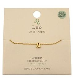 Amazon.com: Leo Zodiac Sign Horoscope Astrology Charm Bracelet: Jewelry