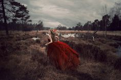 """The Point of No Return"" — Photographer: Sina Domke - Sturmideenkind Photography, Model: Paula Alberts"