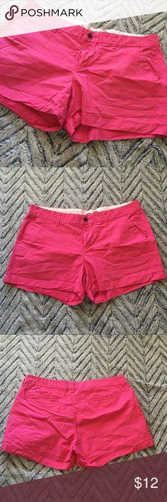 "Old Navy Hot Pink Shorts Sz 12 Inseam: 3.5"" Waist: 17"" Hip: 22"" Rise: 10"" Old Navy Shorts"