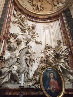 "Chiesa di Sant'Agnese in Agone, Roma (y) - ""The Death of Saint Cecilia by Raggi"" Trip Advisor, Greek, Statue, Art, Rome, Art Background, Kunst, Performing Arts, Greece"