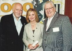 Dominic Chianese, US Congressman Marsha Blackburn and Creative and Dreams Fred Cannon supporting songwriters together in Washington DC. Dominic Chianese, Cannon, Washington Dc, Suit Jacket, Breast, Actors, Suits, Creative, Jackets