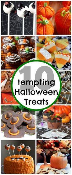 10 Tempting Halloween Treats